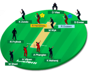 Dream11 team 3 for dol vs hl