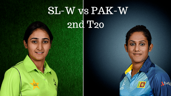 SLW vs PAKW Match Prediction 2nd T20
