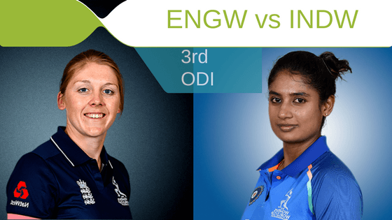 Today match predictin INDW vs ENGW 3rd ODI