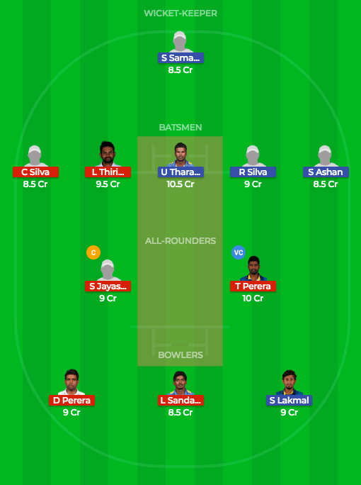 Today Dream11 Prediction GAL vs COL 5th ODI Match-SL ODD 3