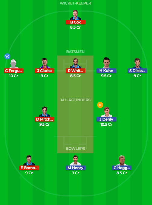 Today Dream11 Match Prediction WOR v KET 1st Semi Final 26