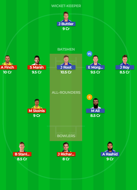Today Dream11 Match Prediction of ENG vs AUS 4th ODI 21