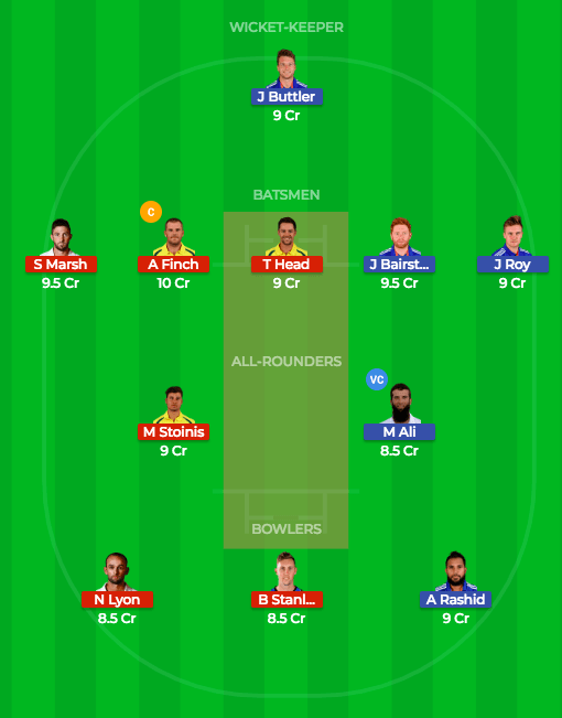 Today Dream11 Match Prediction of ENG vs AUS 5th ODI 17