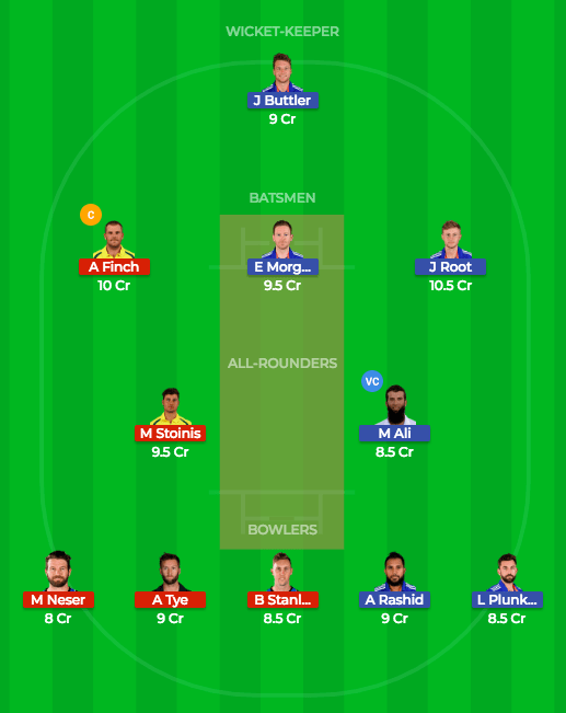 Today Dream11 Match Prediction of ENG vs AUS 2nd ODI 2