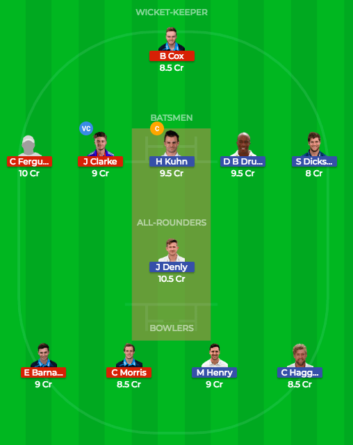 Today Dream11 Match Prediction WOR v KET 1st Semi Final 27