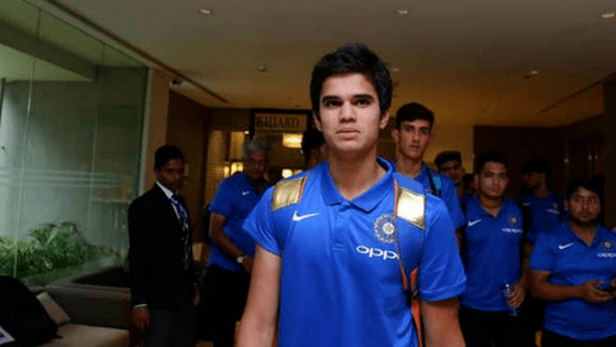 Jr. Tendulkar Claims Maiden International Wicket for IND U19