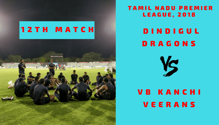 DIN vs VBK Dream11 Fantasy Match Prediction 12th T20 TNPL