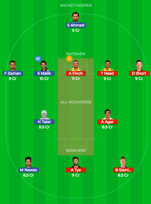 Today Dream11 Match Prediction of AUS vs PAK 5th T20 1