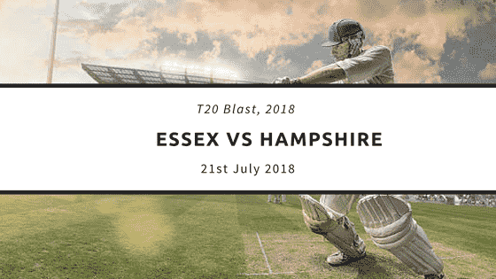 Today Dream11 T20 Match Prediction ESS vs HAM 21st July