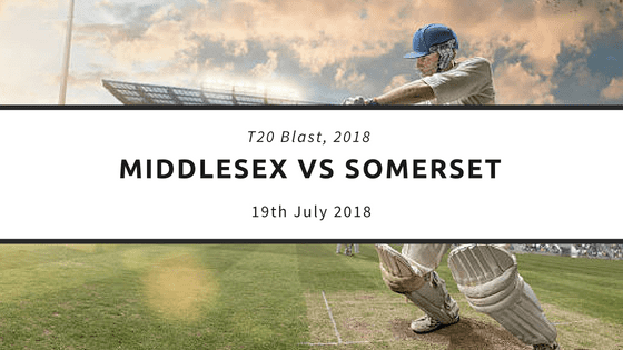 Today Dream11 T20 Match Prediction MID vs SOM 19th July