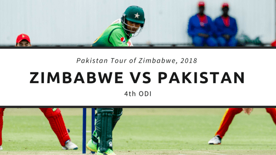 Today Match Prediction of PAK vs ZIM 4th ODI