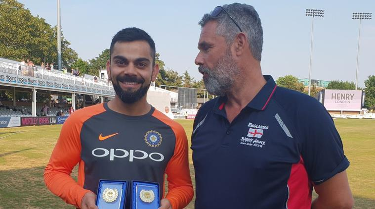 Virat kohli Got International Player Of The Year By Barmy Army 10