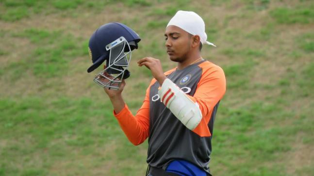 Prithvi Shaw Gets Training with Team India After Maiden Test Call-Up 2