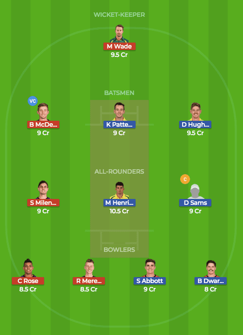 TAS vs NSW Dream11 Prediction