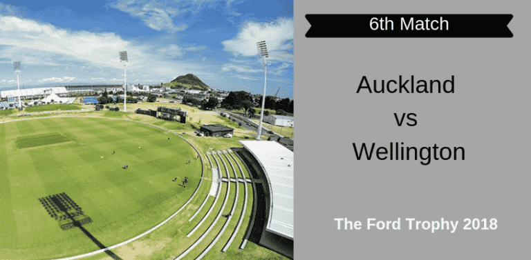 AUK vs WEL Dream11 Match Prediction & Preview 6th Match