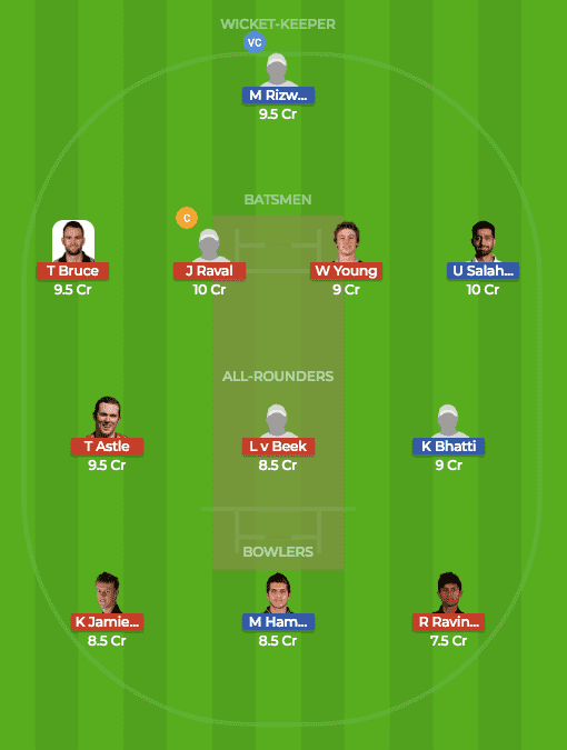 Today Dream 11 Match Prediction of PKA vs NZA