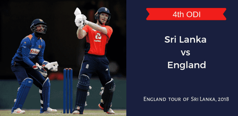 SL vs ENG Dream11 Match Prediction & Preview 4th ODI