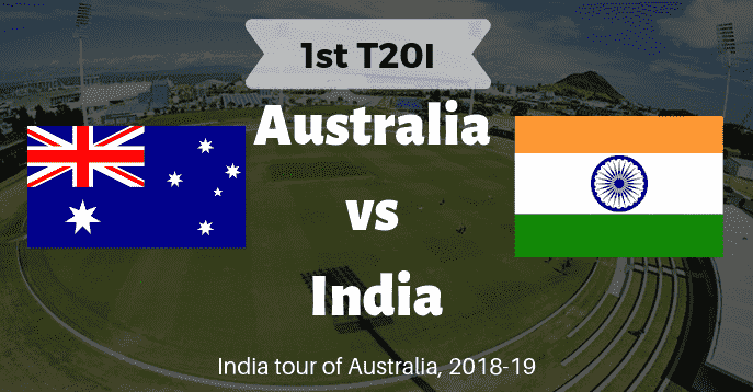 AUS vs IND Dream11 1st T20I Match Prediction & Playing 11