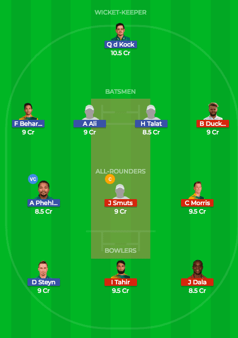 CTB vs NMG Dream11 Prediction