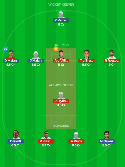 CTB vs TST Dream11 Prediction of 1st Match