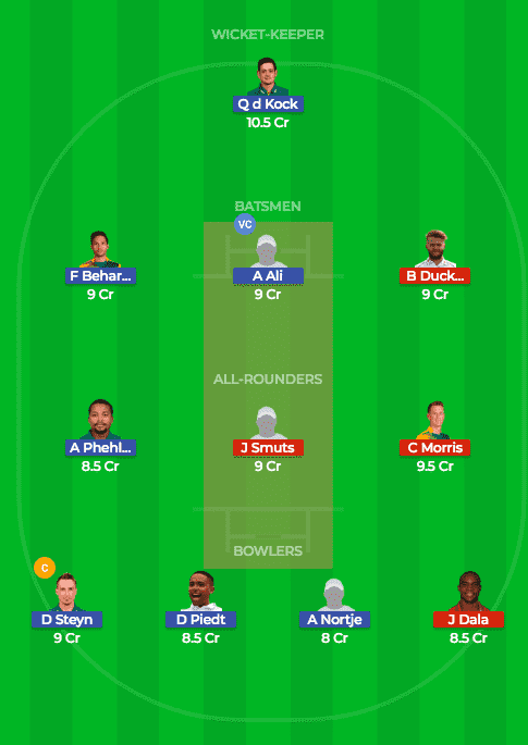 NMBG vs CTB Dream11 Prediction