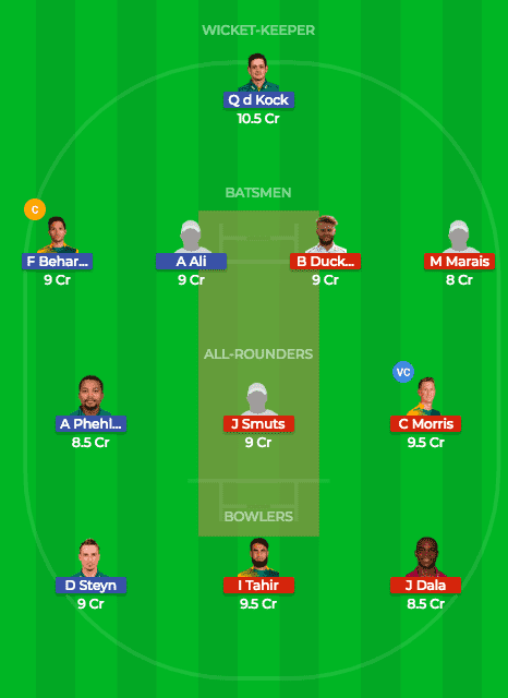 NMG vs CTB Dream11 Prediction