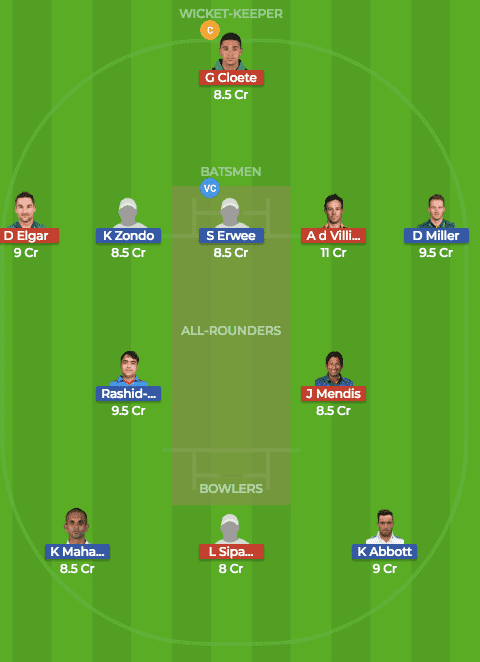 DUR vs TST Dream11