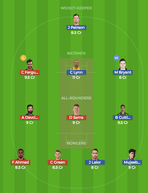 BRH vs SYT Dream 11
