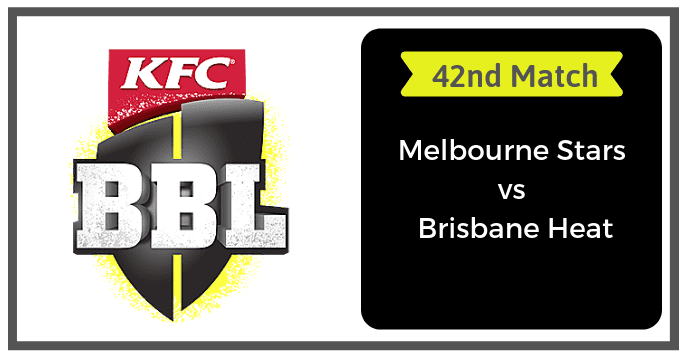 BRH vs MLS Dream11 Prediction & Playing 11 42nd Match BBL