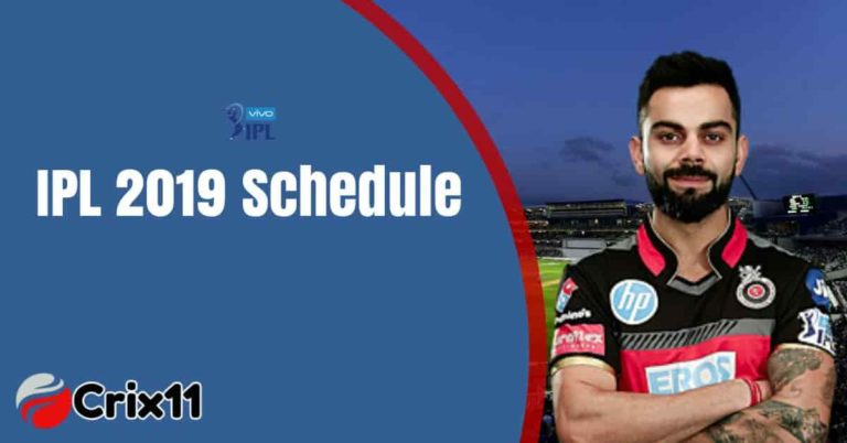 VIVO IPL Schedule, Time Table, Venue and Ground Details
