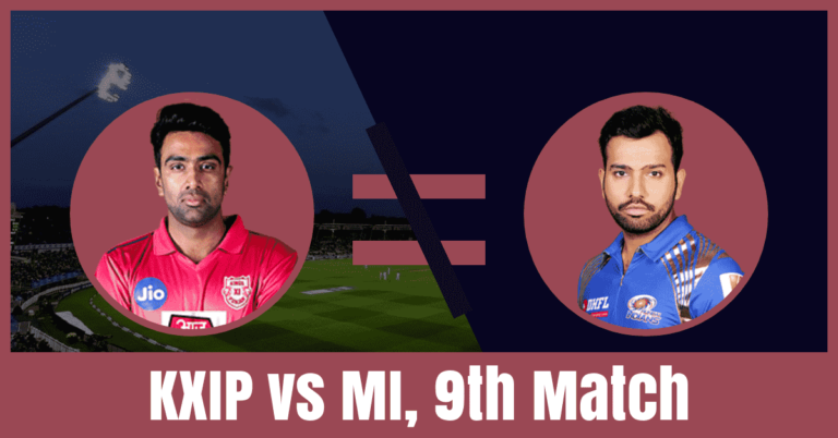 KXIP vs MI Dream11 Cricket Prediction 9th Match – IPL 2019