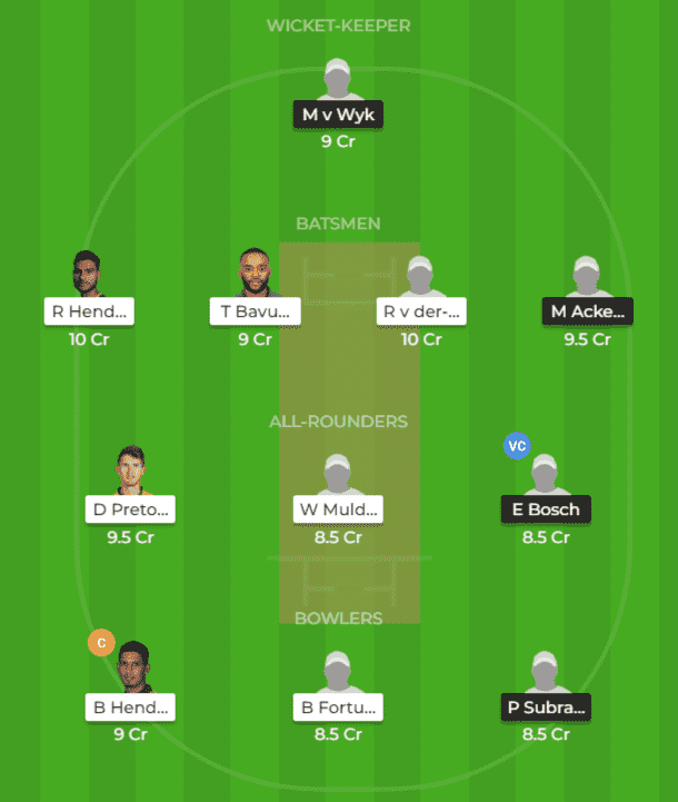 Best DOL vs HL Dream11 Team Prediction of 5th Match