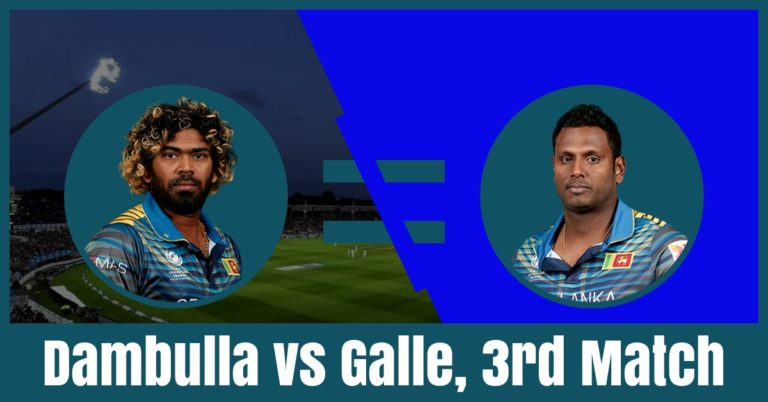 GAL vs DAM Dream11 Prediction 3rd Match – Sri Lanka ODD