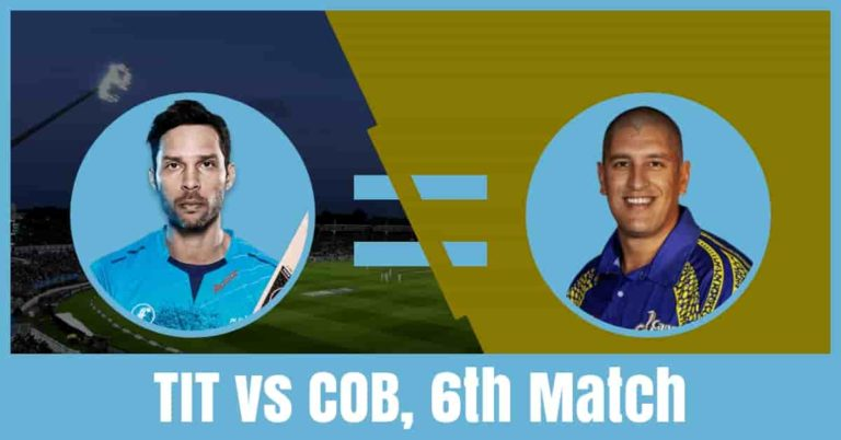 TIT vs CC Dream11 Cricket Prediction 6th Match – CSA T20