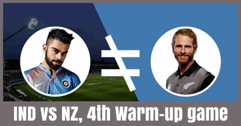 IND vs NZ Dream11 Prediction 4th Warm-Up Match [Expert Tips]