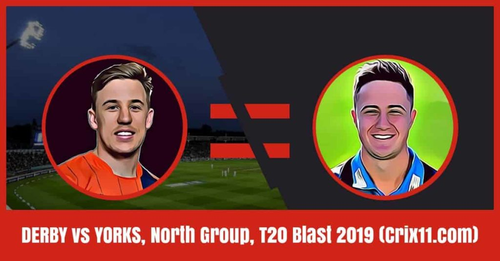 YOR Vs DER Dream11 Prediction T20 Blast [Free Expert Tips]