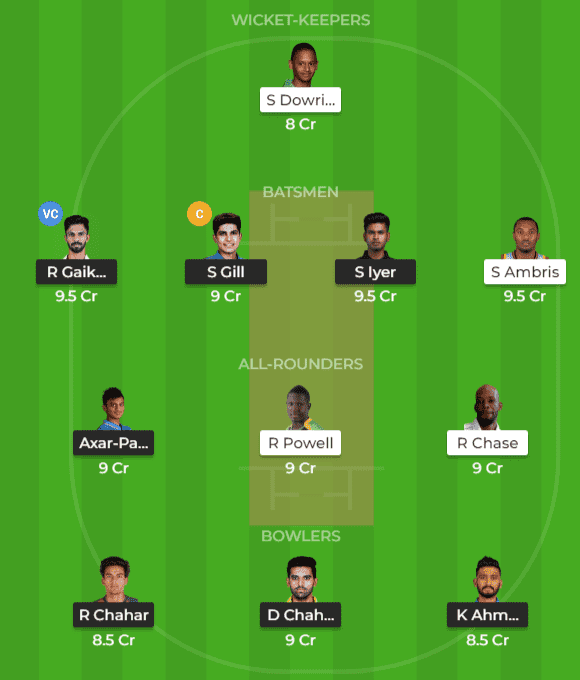 IN-A vs WI-A Dream11 Team Prediction, 2nd ODI