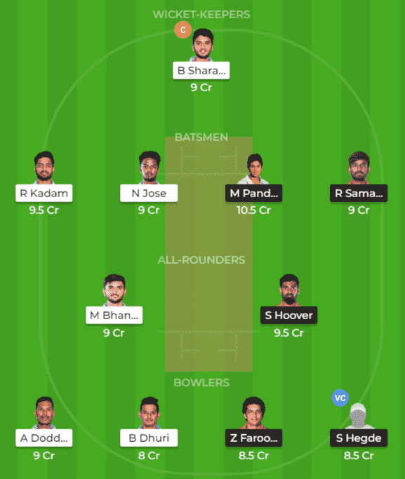 BP vs BB Dream11 Team Prediction