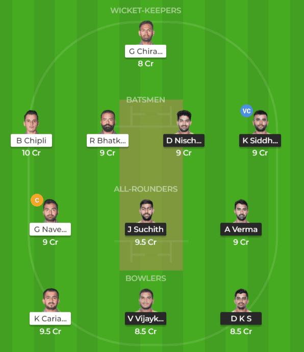 MW vs BIJ Dream11 Team Prediction