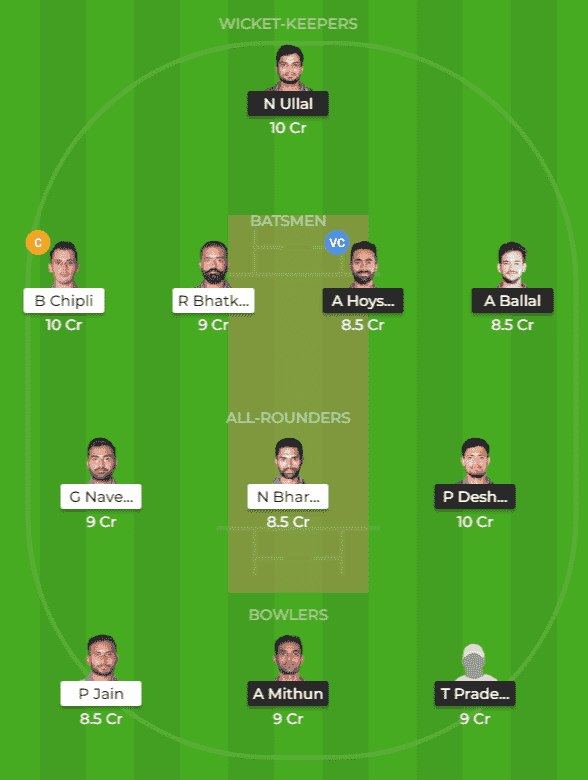 SL vs BIJ Dream11 Team Prediction