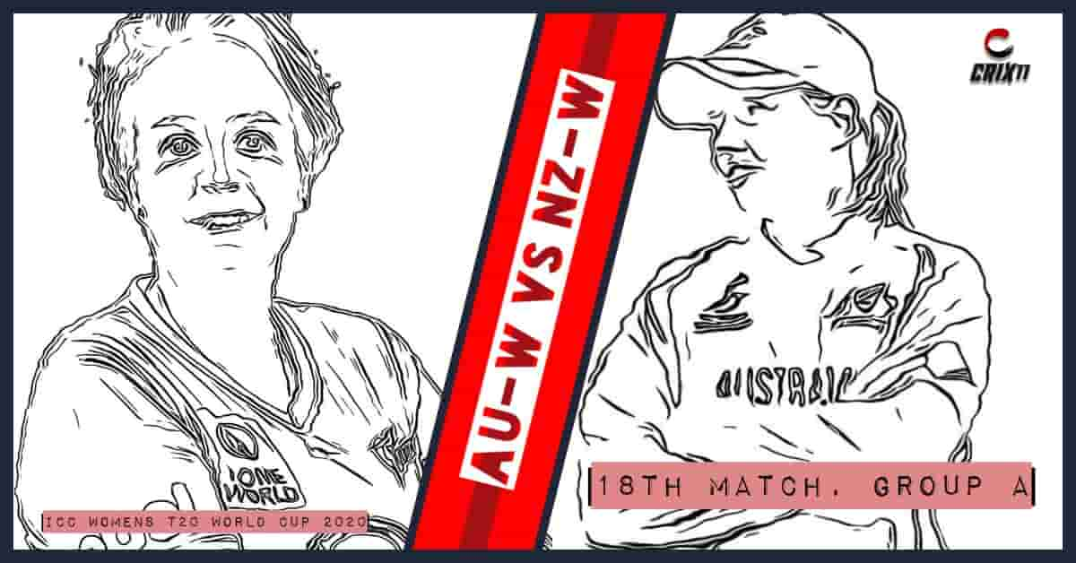 AU-W vs NZ-W Dream11 Prediction 18th Match Group A ICC Womens T20 World Cup 2020