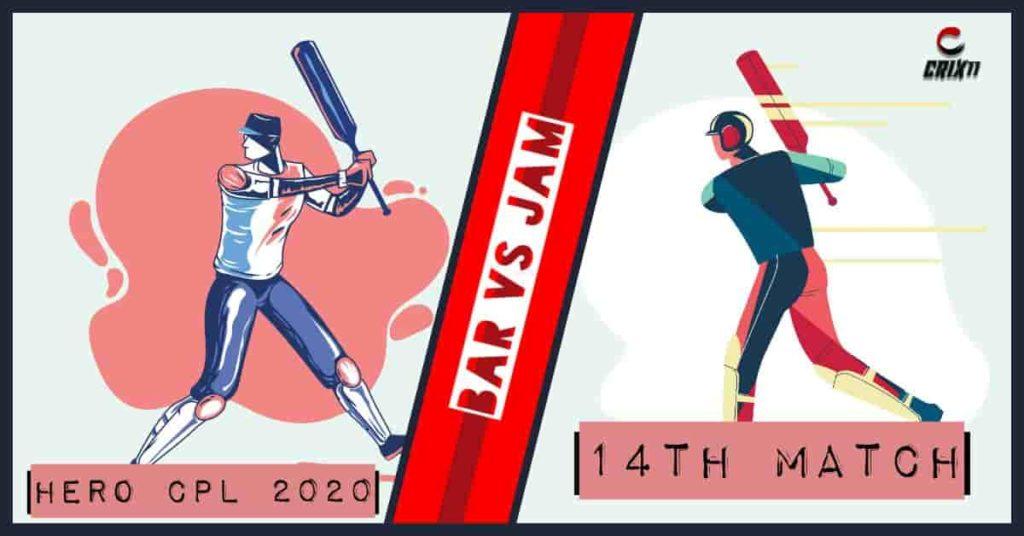 BAR vs JAM Dream11